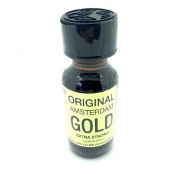 Original Amsterdam Gold Poppers x 1 - from UK Poppers online