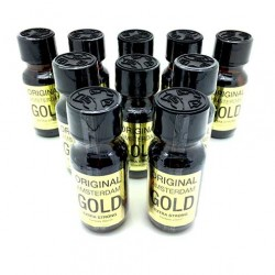 Original Amsterdam Gold Poppers x 10 - buy uk poppers online